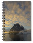 Dawn Over The Lemaire Spiral Notebook
