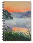 Dawn Reflection Study Spiral Notebook