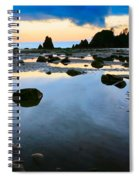 Dawn Seascape Spiral Notebook
