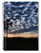 Dawn Silhouettes Spiral Notebook