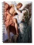 Day And The Dawnstar Spiral Notebook