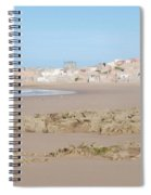 Day At The Moroccan Fishing Village Spiral Notebook