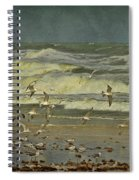Day For The Birds Spiral Notebook