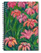 Day Lily Rush Spiral Notebook