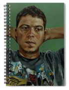 Day Portrait Of A Young Man Spiral Notebook