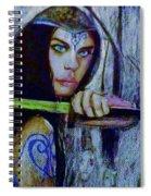 Dayanna To Battle Spiral Notebook