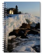 Daybreak At Cove Point Lodge Cottages Spiral Notebook