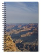 Daybreak At The Canyon Spiral Notebook