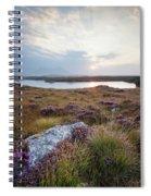 Daybreak Over Connemara Bog Spiral Notebook