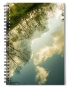 Daydreaming On The Canal Spiral Notebook