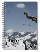 Daylight Raid Spiral Notebook