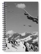 Daylight Raid Mono Spiral Notebook