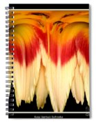 Daylily Flower Abstract 2 Spiral Notebook