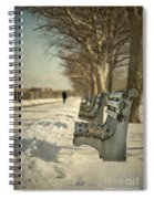 Days Of Cold Chills Spiral Notebook
