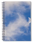 Daytime Moon Spiral Notebook