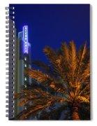 Daytona Rest Stop Spiral Notebook