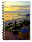 Daytona's Dawn Spiral Notebook