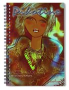 Dazzle Neck Collection Spiral Notebook