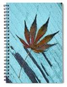 Dazzling Japanese Maple Leaf Spiral Notebook