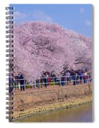 Dc Blossom Visitors Spiral Notebook