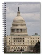 Dc Capitol Building Spiral Notebook