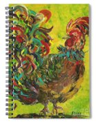 De Colores Rooster #2 Spiral Notebook