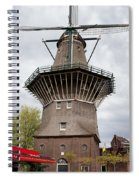 De Gooyer Windmill In Amsterdam Spiral Notebook