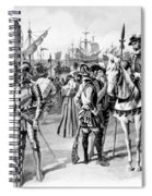 De Soto Departure, 1538 Spiral Notebook