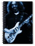 Dead #1 Blue Spiral Notebook