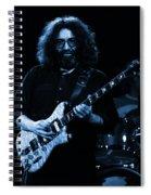 Dead #4 Blue Spiral Notebook