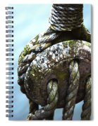 Dead Eye - Nautical Art  Spiral Notebook