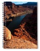 Dead Horse Point Colorado River Bend Spiral Notebook