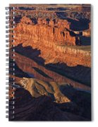 Dead Horse Point Sunrise Panorama Spiral Notebook