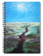 Dead Trees On The Moor Spiral Notebook