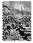 Deadwood South Dakota C. 1876 Spiral Notebook