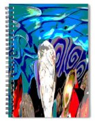 Dean Abstract Spiral Notebook