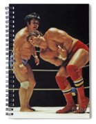 Dean Ho Vs Don Muraco In Old School Wrestling From The Cow Palace Spiral Notebook