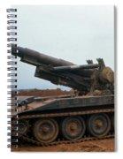 Death Dealer II  8 Inch Howitzer  At Lz Oasis Vietnam 1968 Spiral Notebook