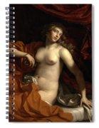 Death Of Cleopatra Spiral Notebook