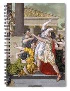 Death Of Virginia, Illustration Spiral Notebook