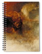 Death On A Pale Horse Spiral Notebook