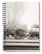 Death Valley Borax Mule Team Spiral Notebook