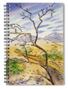 Death Valley- California Sketchbook Project Spiral Notebook