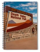 Death Valley Entry Spiral Notebook