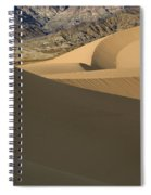 Death Valley Mesquite Flat Sand Dunes Img 0086 Spiral Notebook