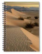 Death Valley Mesquite Flat Sand Dunes Img 0177 Spiral Notebook