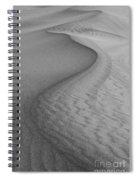 Death Valley Sand Dunes Spiral Notebook