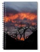 Death Valley Sunset Spiral Notebook