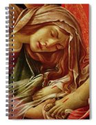 Deatil From The Lamentation Of Christ Spiral Notebook