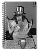 Debbie C July 4th Lincoln Gardens Tucson Arizona 1990 Spiral Notebook